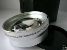 SL 49mm 2.0X Tele-Photo Lens For Sony NEX-C3 NEX-5N NEX-F3 Camera