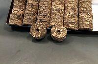 "Cork Rings 36 Burl Mix # 8 Striped! 1 1//4/"" x 1//2/"" x 1//4/"" Hole"