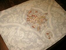 ONE POTTERY BARN Ornate Floral Batik Linen Cotton Standard Size Pillow Sham