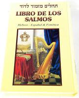 Big Book of Psalms Tehilim Libro de los Salmos Español Spanish/Hebrew & Fonética