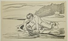 Original Print by Edvard Munch from his Alpha & Omega Series, 1908-09