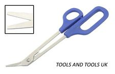 BLUE HANDLE TOE NAIL Clippers Scissors LONG REACH Manicure Pedicure Chiropody