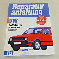 Reparaturanleitung VW Golf II Diesel / Turbodiesel - Baujahre ab 1983!