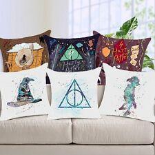Cartoon Harry Potter Polyester Cushion Cover Sofa Throw Pillow Case Home Decor #