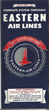 Eastern Air Lines system timetable 8/1/58 [9072] Buy 4+ save 25%