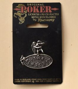 the Almighty pin badge  rock music band. alchemy Poker Crank  rare
