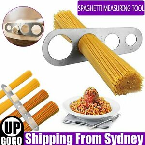 Stainless Steel Pasta Serving Size Measuring Tool Spaghetti Noodle Portion Diet