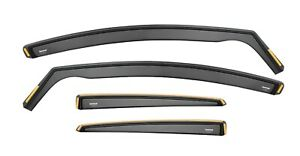 Wind Deflectors For Ford Focus lII MK3 5-doors 2012-2017 hatch Visor 4-pc Tinted