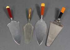 Antique German Art Deco Cake Pastry Server Dessert Shovel Knives~Bakelite Handle