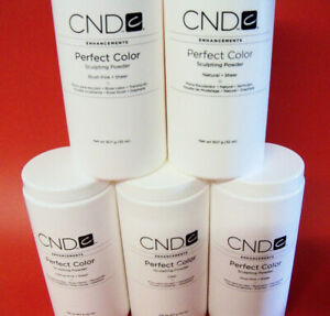 CND PERFECT ACRYLIC PINK CLEAR NAIL POWDERS 10g to 240g Decanted