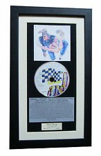 YELLO Flag CLASSIC CD Album LIMITED GALLERY QUALITY FRAMED+EXPRESS GLOBAL SHIP