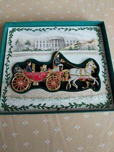 2001 White House Historical Association Christmas Ornament
