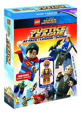 LEGO: Justice League - Attack of the Legion of Doom (inc Minifigure) (Blu-ray)