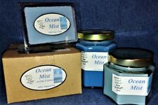 **NEW** Hand Poured Fresh Scents Soy Candles, Tarts & Votives - Ocean Mist