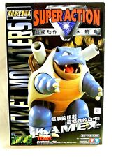 NEW IN BOX BLASTOISE SUPER ACTION 1998 FIGURE, NINTENDO CREATURES