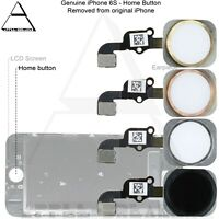 Genuine Original Apple iPhone 6S HOME BUTTON WITH FLEX CABLE  UK