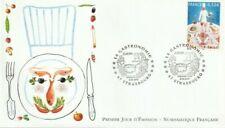 FDC_FRANCE 2005_ENVELOPPE 1er JOUR_NF_Europa, La Gastronomie. (3784).