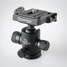 Giottos MH1302 Ball Head w/ MH-652 Quick-Release Adapter and Plate