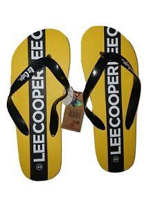 Lee Cooper tong homme antibactérien jaune (1)