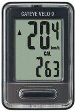 CatEye VELO 9 Digital Cc-vl820 Cycle Computer Speedometer Black