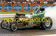 """Dave Hough """"Nanook"""" AA / Fuel Altered """"Burnout"""" GLOSSY 8x10 PHOTO!"""