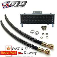 High Flow Pit Bike Oil Cooler Radiator Kit Engine Fitting Pipe YX140 & more- M10