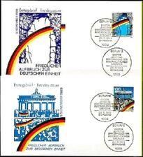 BRD 1990: Grenzöffnung+Mauerfall! FDC Nr. 1481+1482! 1A! Berliner Stempel! 1807