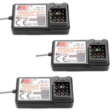 3 PCS FlySky FS-GR3E Receiver 3CH Failsafe for FLYSKY GT2B GT3B GT3C Transmitter