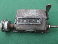 VINTAGE ENGLISH NUMBERING MACHINE MADE IN ENFIELD LONDON