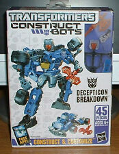 New factory sealed Transformers Construct Bots 45 pc. decepticon