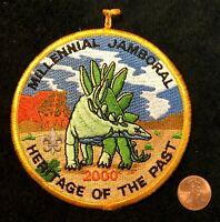 UTAH NATIONAL PARKS COUNCIL UT OA LODGE 508 2-SIDED 2000 JAMBORAL POCKET PATCH