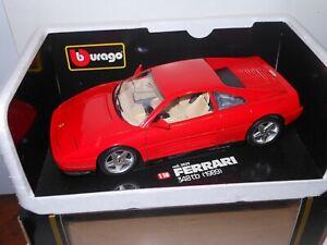 Bburago 3039 1:18 scale1989 Ferrari 348tb diecast
