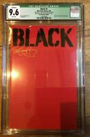 Black #1 NYCC Comic Con Red Edition Variant 81/99 2016 Signed Tim Smith CGC 9.6