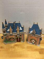 Dept 56 Disney Mickeys Christmas Carol Fantasyland Castles 1994