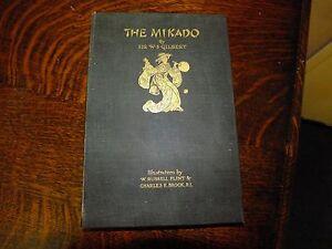 The Mikado WS Gilbert W Russell Flint & CE Brock 1928 1st ed