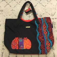 Laurel Bunch Zip Up Cat Bag Black Red New With Tags