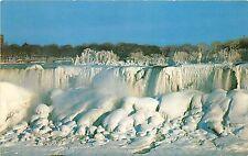 B32990 American Falls in Winter Splendor from Niagara Falls new york usa