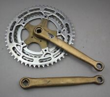 Shimano + Stronglight customized Crank / 195 mm !!! / Strada / 52/46/38 / Kurbel