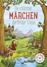 Die schönsten Märchen der Brüder Grimm, mit MP3-CD von Jacob und Wilhelm Grimm (2017, Gebundene Ausgabe)