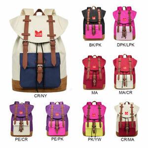 Sale Backpack Unisex Travel Colorful Bag Boy Girl Retro School College Rucksack