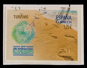 Sello España Spain 5114. Año 2017 Turismo sostenible para el desarrollo. Usado