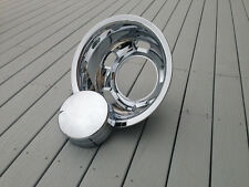03 04 05  single rear  dodge 3500 dually wheel simulators hubcaps 17 center caps