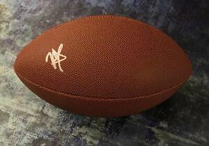 GFA Minnesota Vikings RC Quarterback KELLEN MOND Signed NFL Football K3 COA