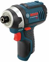 BOSCH PS41B-RT 12V Max 12-Volt Cordless 1/4-Inch Hex Impact Driver TOOL ONLY