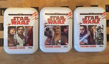 Topps Limited Edition Journey To Last Jedi Tin Set. Brand New. FREE P+P