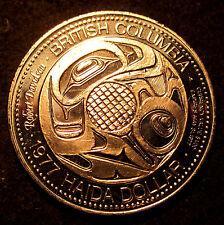 CANADA TRADE DOLLAR #BC 41 1977 HAIDA DOLLAR CHARLES EDENSHAW 1839-1924
