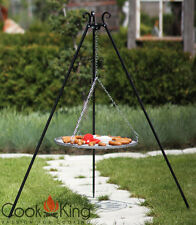 Schwenkgrill Cook King schwarz Grill-Rost Stahl Ø 60cm