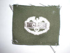 US ARMY 1960'S COMBAT MEDIC EMBROIDERED INSIGNIA -COLOR