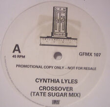 "CYNTHIA LYLES ~ Crossover ~ 12"" Single PROMO"