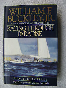 RACING THROUGH PARADISE BOOK MARITIME NAUTICAL MARINE (#007)
